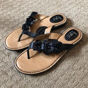 b.o.c. Born Concept Leather Sandals - size 8M
